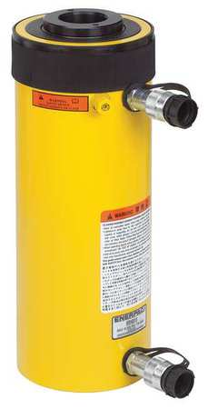 Enerpac RRH1001,  100 ton Capacity,  1.50 in Stroke,  Double-Acting,  Hollow Plunger Hydraulic Cylinder RRH1001