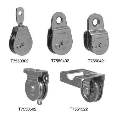 11/2In Hd Pulley Single Sheave Eye Steel