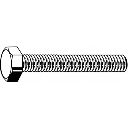 Fabory M14-2.00 A4 Hex Head Cap Screw,  Stainless Steel,  PK 25 M55010.140.0035