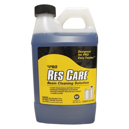 Pro Products Water Softener Cleaner, Liquid Resin RK64N