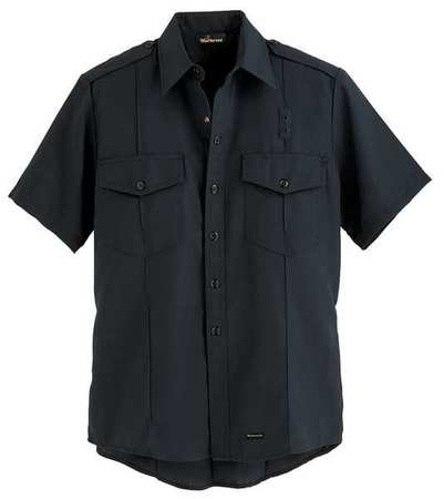 """Workrite Flame Resistant Collared Shirt,  Navy,  Nomex(R),  50"""" FSC2NV 50 00"""