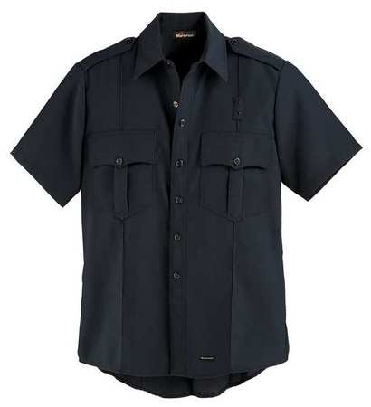 """Workrite Flame Resistant Collared Shirt,  Navy,  Nomex(R),  48"""" FSE2NV 48 00"""