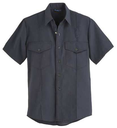 """Workrite Flame Resistant Collared Shirt,  Navy,  Nomex(R),  48"""" FSF6NV 48 00"""