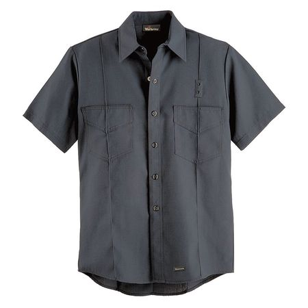 """Workrite Flame Resistant Collared Shirt,  Navy,  Nomex(R),  50"""" FSF8NV 50 00"""
