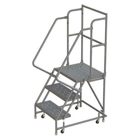 Super 3 Steps 30 H Steel Rolling Ladder 450 Lb Load Capacity Alphanode Cool Chair Designs And Ideas Alphanodeonline