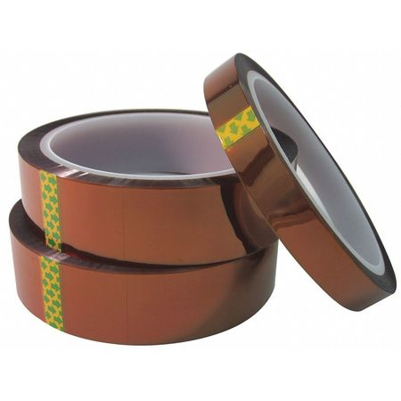 Mj May Polyimide Tape w/Si Adh., .001x4x36 yd. 412I-8258S-0436