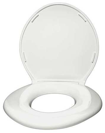 Phenomenal Oversized Toilet Seat Round Closed Front With Cover White Cjindustries Chair Design For Home Cjindustriesco