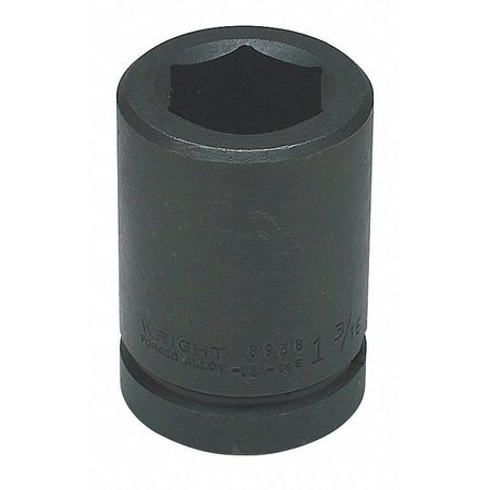 """Wright Tool 1"""" Dr,  13/16"""" Size,  SAE Impact Socket,  6 Pts 8926"""