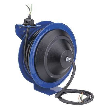 Coxreels 50 ft. 10/3 Spring Return Cord Reel 1 Outlets PC17-5010-X