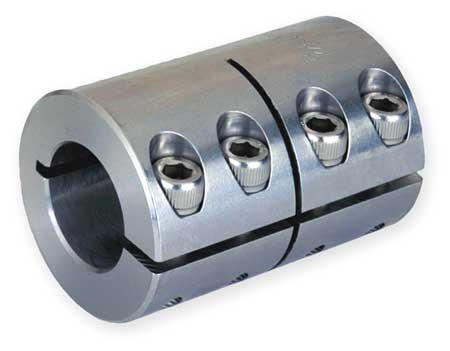 Ruland Manufacturing Coupling Bore Dia 1//2 x 3//8 In One Piece CLX-8-6-F