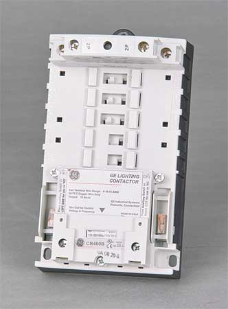 120VAC Electrically Held Lighting Contactor 2P 30A