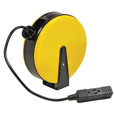 Bayco Products Inc 16/3 Retractable Cord Reel 3 Outlets 120VAC Voltage SL-800