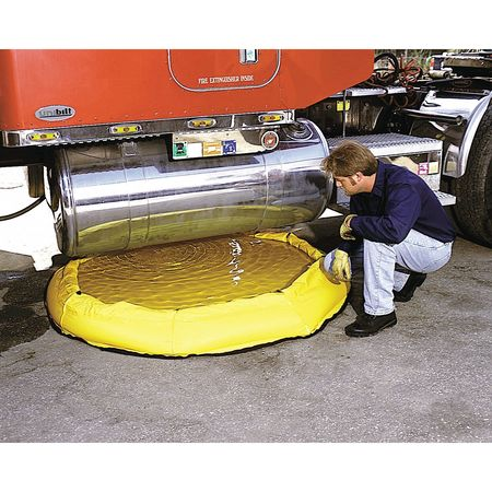 Ultratech Sprung Steel Containment Pool,  150 gal Spill Capacity,  10 oz Polyethylene 8150