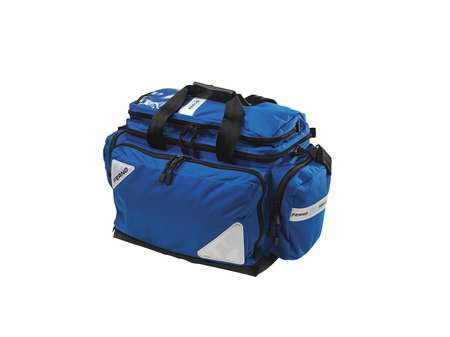 Ferno Soft-Sided Bag,  Dupont Cordura,  Blue,  14 in Height MB5107 BLUE