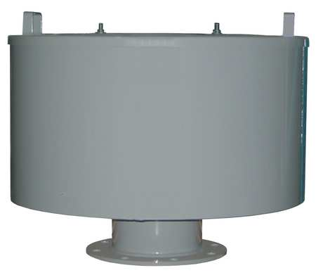 Solberg Inlet Filter, 10 Flange Out, 3300 Max CFM F-485P-1000F