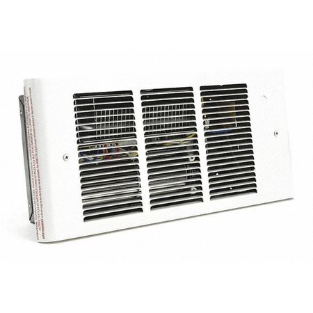 Dayton Recessed Electric Wall-Mount Heater,  Recessed,  208/240V AC,  White 3UG18