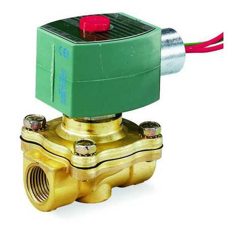 "1"" NPT 2-Way Solenoid Valve 120VAC 1"" Orifice"