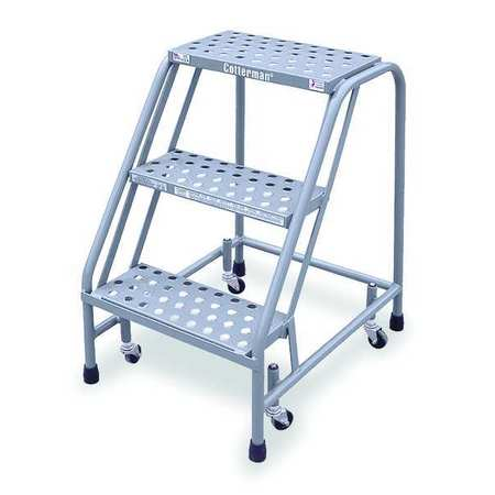 Peachy 30 H Steel Rolling Ladder 450 Lb Load Capacity Spiritservingveterans Wood Chair Design Ideas Spiritservingveteransorg