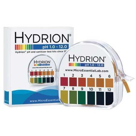 pH Paper, Hydrion Dispenser