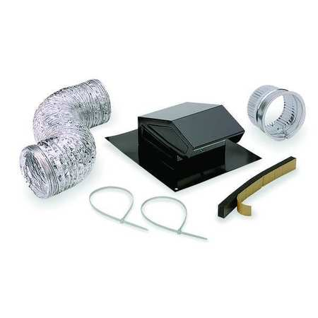 Broan Roof Vent Kit,  Flexible Duct,  8 ft. L RVK1A