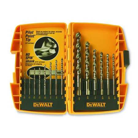 4-Piece DW5204 DEWALT Masonry Drill Bit Set Percussion