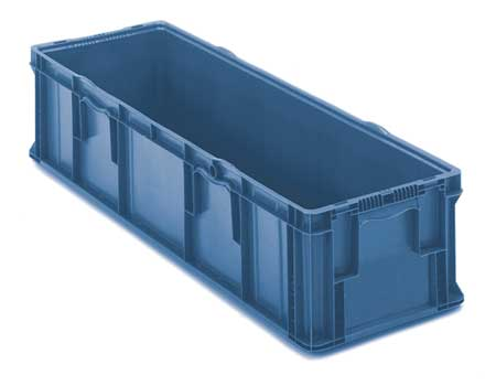 Orbis Blue Straight Wall Container 48 in x 15 in x 10 3/4 in H,  1 PK SO4815-11 Blue