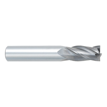 25.00mm Length of Cut 10.00mm Milling Diameter Bright Number of Flutes: 4 Uncoated Drill Mill