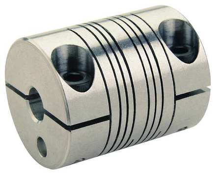 Ruland Manufacturing Coupling, 4 Beam Clamp, 5/32in.x 1/8in. PCR10-2.5-2-SS