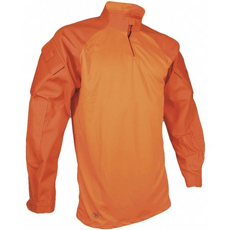 "TRU-SPEC 2597 Tactical Polo,Hi-Vis Orange,M,34/"" L"