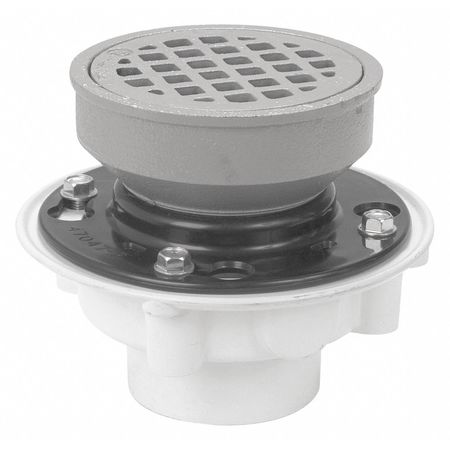 Zurn Floor Drain Adj Pvc Medium Duty 2 Quot Fd2340 Pv2