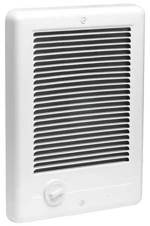 Cadet Recessed Electric Wall-Mount Heater,  Recessed,  1000 W,  120V AC,  White CSC101TW