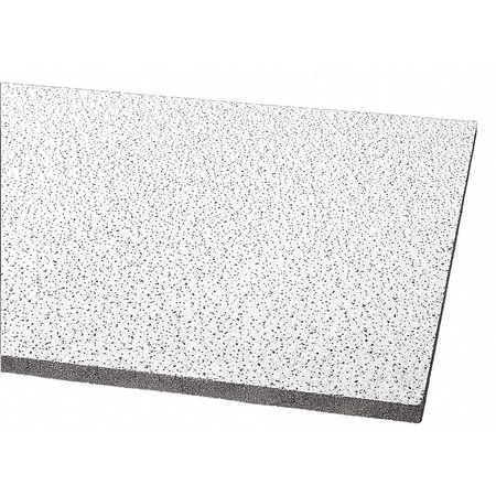 Armstrong Fine Fissured Ceiling Tile,  24 in W x 24 in L ,  PK12 1810