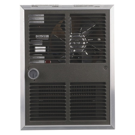 Markel Products Recessed Electric Wall-Mount Heater,  Recessed or Surface,  2250/500 W H30522T2DWB