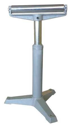 Zoro Select Roller Stand, H-Style, 27 to 42 in. 33VE11