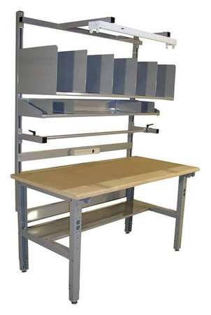 Pro-Line Packing Table, Particle Board, 72 in. D IWBPB7230DS