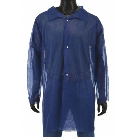 West Chester Protective Gear Disposable Lab Coat, 2XL, PP, 22g, PK30 3511/XXL