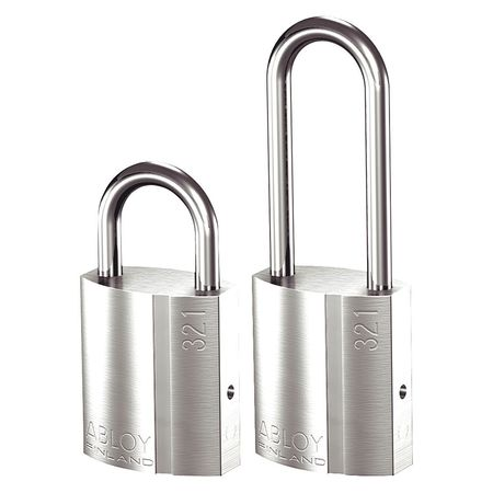 """Abloy Government Padlock, 1/3""""W PL321/20-KD"""