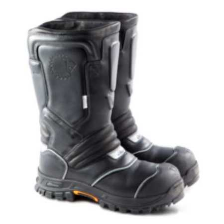 Thorogood Shoes Structural Fire Boots, Mens, 10-1/2W, PR 804-6369 10.5W