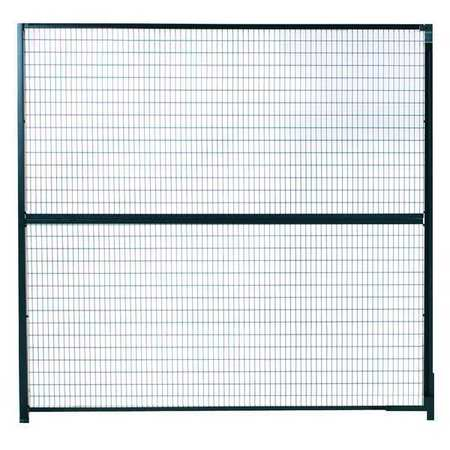 Wirecrafters Partition Panel, 10 ftx5 ft, Powder Coated 1010RW