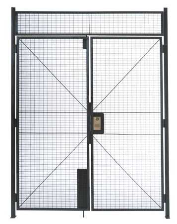 Wirecrafters Double Hinged Gate, 6 ft x 7 ft 3-1/4 In DHD678