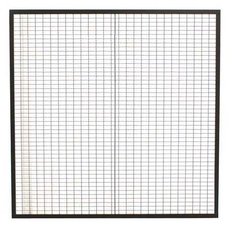 Wirecrafters Physical Barrier Panel, 10 ftx5 ft, Enamel 105
