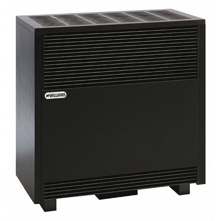 Williams Comfort Products Hearth Heater,  Natural Gas,  Top Vent Vent Type,  Gravity Convection 6501522A