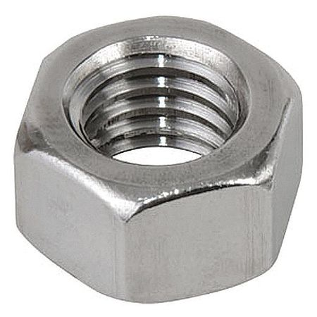 Regular Square Nuts AISI 316 Stainless Steel 1//2-13 X 0.4375 10 pcs