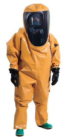 Encapsulated Suit, Level A, Rear Entry, S