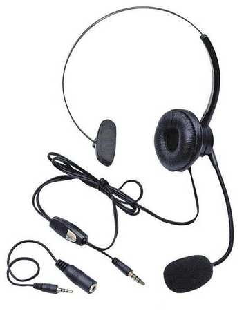 Corded Headset, Noise Cancelling, Hands Fr
