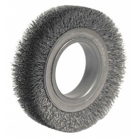 Crimped Bench Wire Wheel