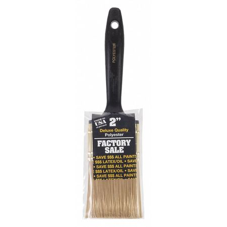 """Wooster 2"""" Wall Paint Brush,  Polyester Bristle,  Plastic Handle P3972-2"""