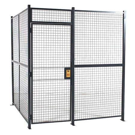 Rapidwire Welded Part Cage, 8 ft. 6inWx16 ft. 6inD 810102W