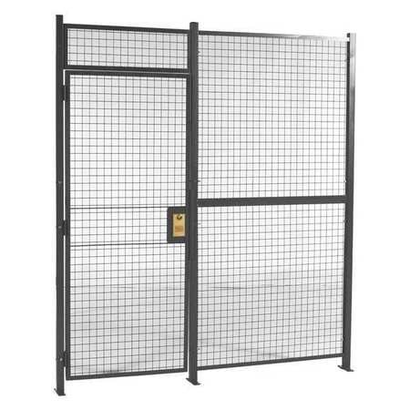 Wirecrafters Woven Part Cage, 10ft6inWx16ft6inD, 1Sided 1081