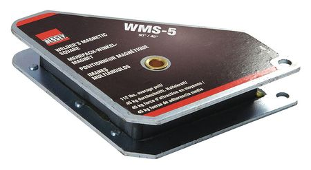BESSEY WMS-5 Magnetic Welding Square,3-3//4InLx3//4InW